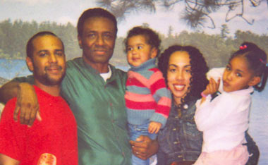 Herman Bell with family